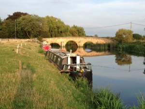 Nokomis and Fotheringhay bridge