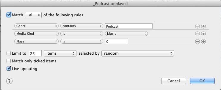 Playlist 2 _Podcasts Unplayed